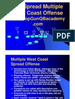 West Coast Spread Offense