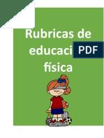6. Rubrica Educacion fisica