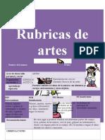 4. Rubricas Artes