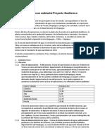 Línea base ambiental Proyecto Quellaveco Avance