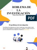 EL PROBLEMA DE LA INVESTIGACIÓN