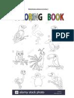 Guía 1 Las aves para colorear