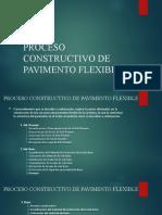 Proceso Constructivo de Pavimento Flexible