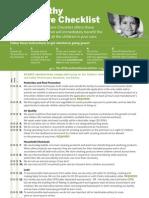 environmental checklist