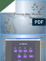 PRINSIP DAN METODE sampling