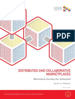 Distributed and Collaborative Marketplaces