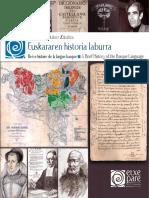 euskararen-historia - Histoire de la langue basque