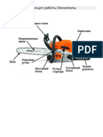 Устройство и принцип работы бензопилы (рисунки, фото)