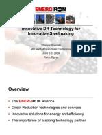 Innovative DR Technology for Innovative Steelmaking