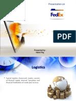 Presentation on Fedex