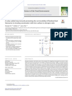 A value-added step towards promoting the serviceability of fluidized bed bioreactor in treating wastewater with low carbon to nitrogen ratio