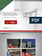 Sistema Alerta Tigre 2.0. Prensa y Fotos del lanzamiento (Alerta Municipios)
