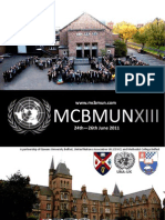Methodist College Belfast Model United Nations 2011 Invitation to all schools