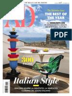 AD Architectural Digest Italia N447 Novembre 2018