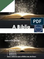 PDVM Fundamentos Lição 1 - A Bíblia Parte 1 e 2