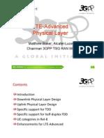 LTE Advance REV 090003 r1