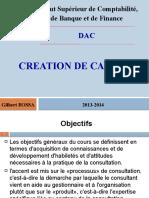 Création de cabinet 2013