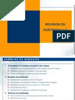 Séminaire Banque -REVISION DU PORTEFEUILLE