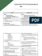 Guide d'exploitation d'une journée ACP ACH GN