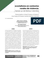 Beltrán, William - Pentecostalismo en contextos rurales de violencia
