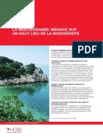 The Mediterranean a Biodiversity Hotspot Under Threat Factsheet Fr