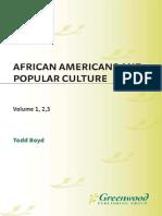 Todd Boyd - African Americans and Popular Culture (3 Vol Set) (2008, Praeger) - libgen.lc