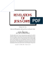 The Revelations of Jesus Christ, Vol 2