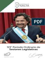 123º Apertura de Sesiones Legislativas