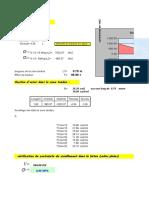 Note de Calcul sur le Ferraillage des Voiles