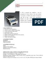 Analisador de Bisturi454A