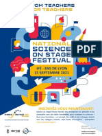 Flyer Festival Sons France 2021