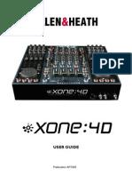 Allen & Heath Xone 4D manual