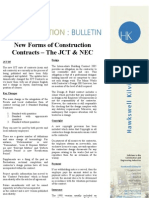 JCT Vs NEC3