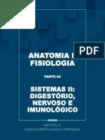 Anatomia Livro IV Sistemas Digestório, Nervoso e Imunológico