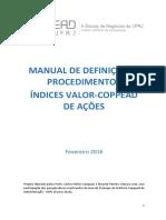 Manual de ìndices COPPEAD
