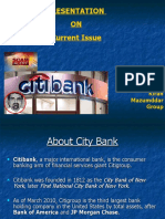City Bank Scam