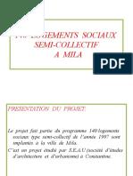 140  LOGEMENTS  SOCIAUX  SEMI-COLLECTIF