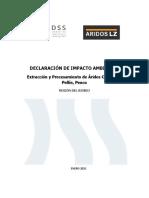 DIA_Extracción y Procesamiento de Aridos Cantera El Pellin Penco