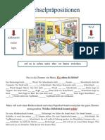 Wechselprapositionen Arbeitsblatter Grammatikerklarungen 41296
