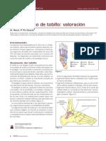 2011 Traumatismo de tobillo- valoración.