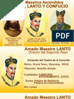 Maestros Kuthumi, Lanto y Confucio Nivel Avanzado