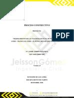 PROCESO CONSTRUCTIVO VÍA LOS ANDES - EL PEÑOL