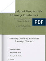 Health of People with a Learning Disability, Talk, Mvd 2009