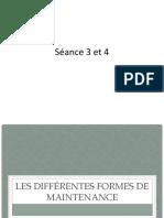 Séance 3 et 4