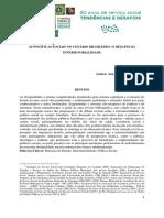 ( ) AS POLÍTICAS SOCIAIS NO CENÁRIO BRASILEIRO_O DESAFIO DA INTERSETORIALIDADE - MARIANO