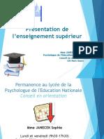 Présentation Post Bac Général 2020 2021 1