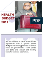 HEALTH BUDGET
