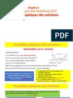 Chapitre 5 (IV) Biophysique de solutions