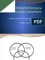 VALIDEZ PSICOPOLÍTICA de la Psicología Comunitaria
