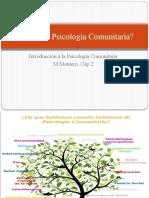 Qué Es La Psicología Comunitaria. Montero Capitulo 2 (1)